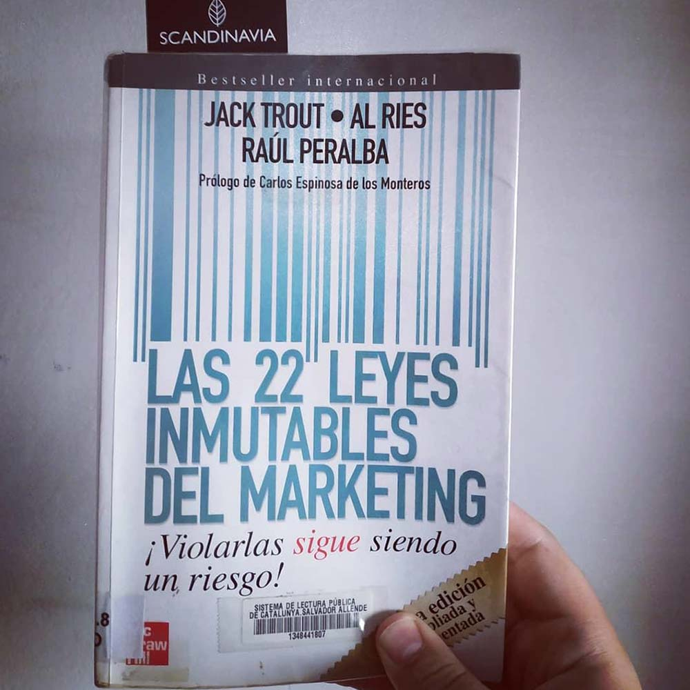 Las 22 Leyes inmutables de Marketing Portada