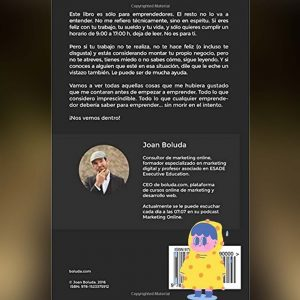 Dentro de cien años estarás muerto by Joan Boluda Contraportada
